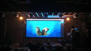 深圳福田P3室内全彩LED显示屏12平米