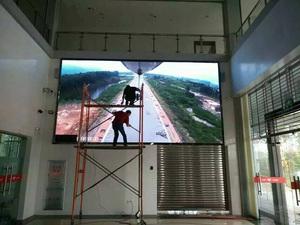 肇庆地税局室内P4室内LED全彩屏